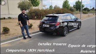 Toyota Corolla Touring Sports Hybrid 2019: Espacio de carga | Maletero | 180H | Feel! | Trunk
