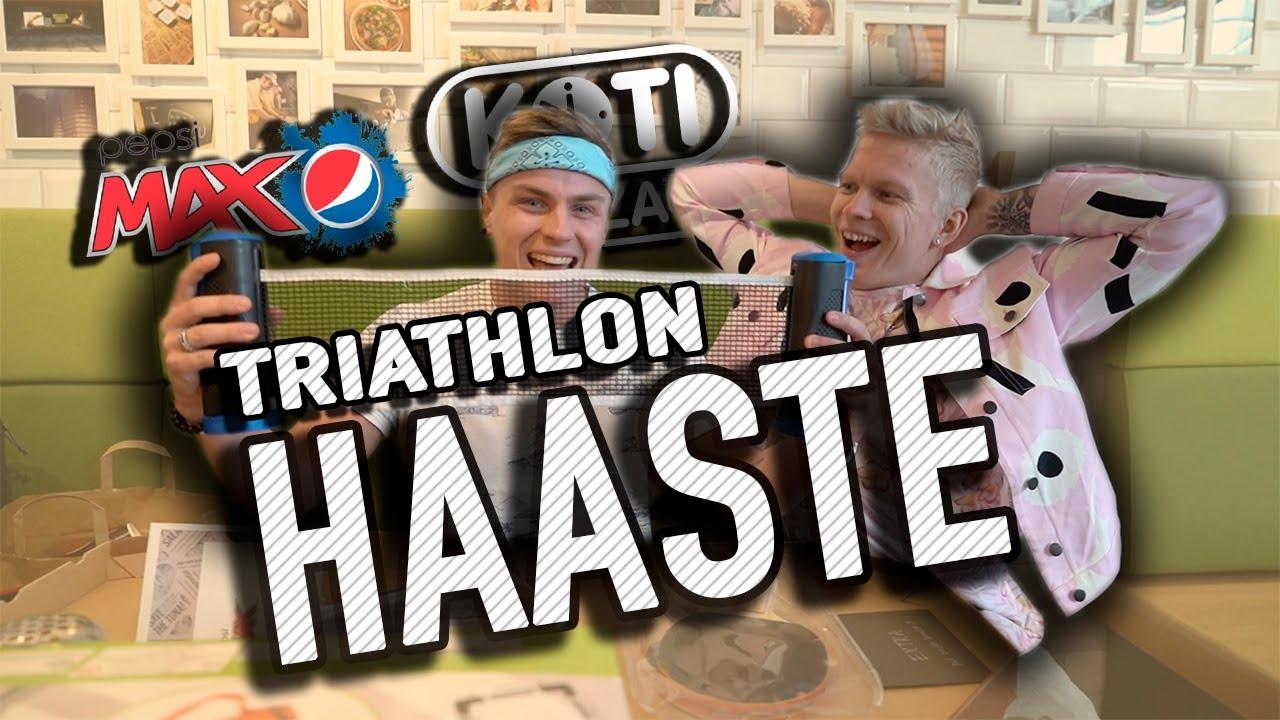 triathlon haaste