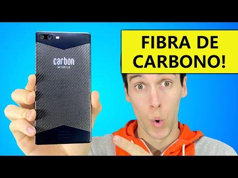EL PRIMER TELÉFONO de FIBRA DE CARBONO !!!!