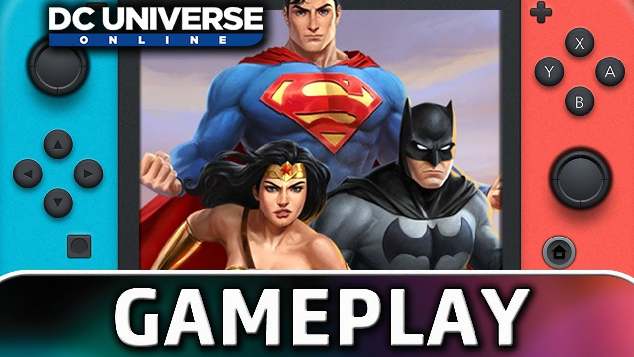 DC Universe Online | First 25 Minutes on Nintendo Switch