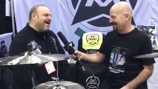 RotodruM at NAMM 18 on Drum Talk TV