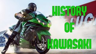 Kawasaki Motorcycles - History | Full Documentary