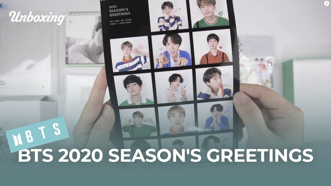 Kpop Ktown4u Com Bts 2020 Season S Greeting Pre Order Benefit