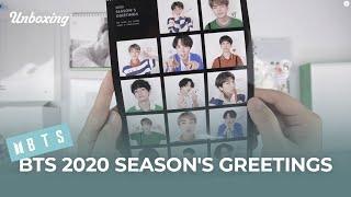"""Unboxing BTS """"2020 Season's Greetings"""" 방탄소년단 2020 시즌그리팅 언박싱 Kpop Ktown4u"""