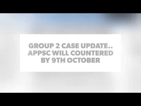 GROUP 2 Case UPDATE.. 9th OCTOBER COUNTERED By commission