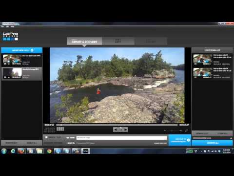 How to edit with gopro studio [GETTING STARTED]