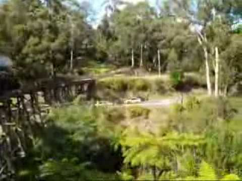how to get to puffing billy from melbourne city
