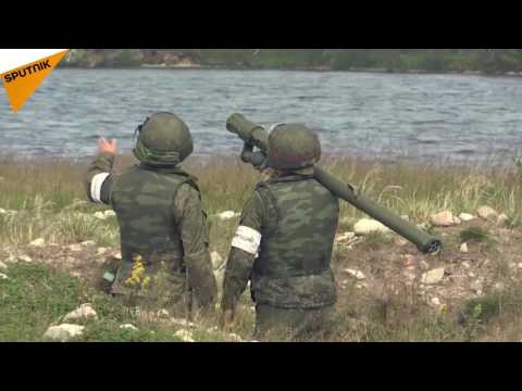 MPADS Practice Drills in Russia's Murmansk Region