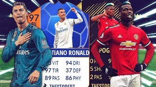 FIFA 18 - ON TESTE RONALDO 97 BU MOTM + POGBA 91 ! ET POURQUOI PAS VISER LE TOP 100 ?