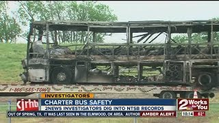 How safe is traveling by charter bus?