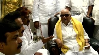 Vijayakanth Meets DMK Leader Karunanidhi - Speculation begins on a New Political Alliance