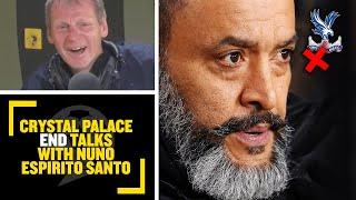 NUNO TO PALACE OFF Crystal Palace END беседует с бывшим боссом Wolves Нуно Эспирито Санто
