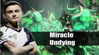 Dota 2 Stream: Liquid Miracle playing Undying