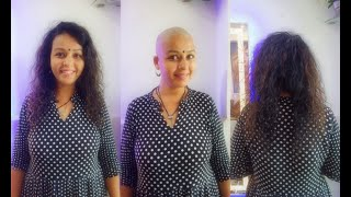 Indian Women Head Shave For Hair Donation 2021