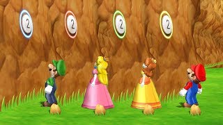 Mario Party 9 - Peak Precision & Other Minigames Step It Up (Luigi vs Rival)| Cartoons Mee