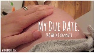 my due date 40 weeks pregnant