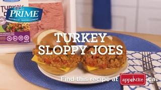 Maple Leaf Prime Turkey Sloppy Joes