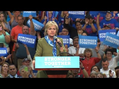 Hillary Clinton hits Trump on outsourcing in Colorado rally