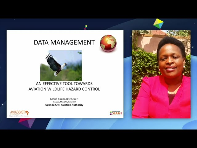 Importance of wildlife data - Gloria Kirabo