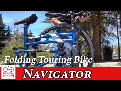 Montague Navigator: Folding Touring Bike | Folding Bike Calgary | Alberta, Canada | Tern