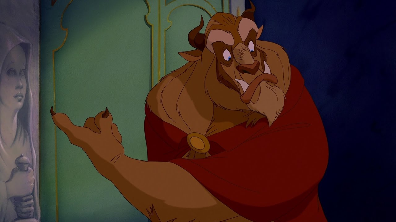 """Fine! Then go ahead and STARVE!!!!!!!"""" - Beauty and the Beast (1991) 
