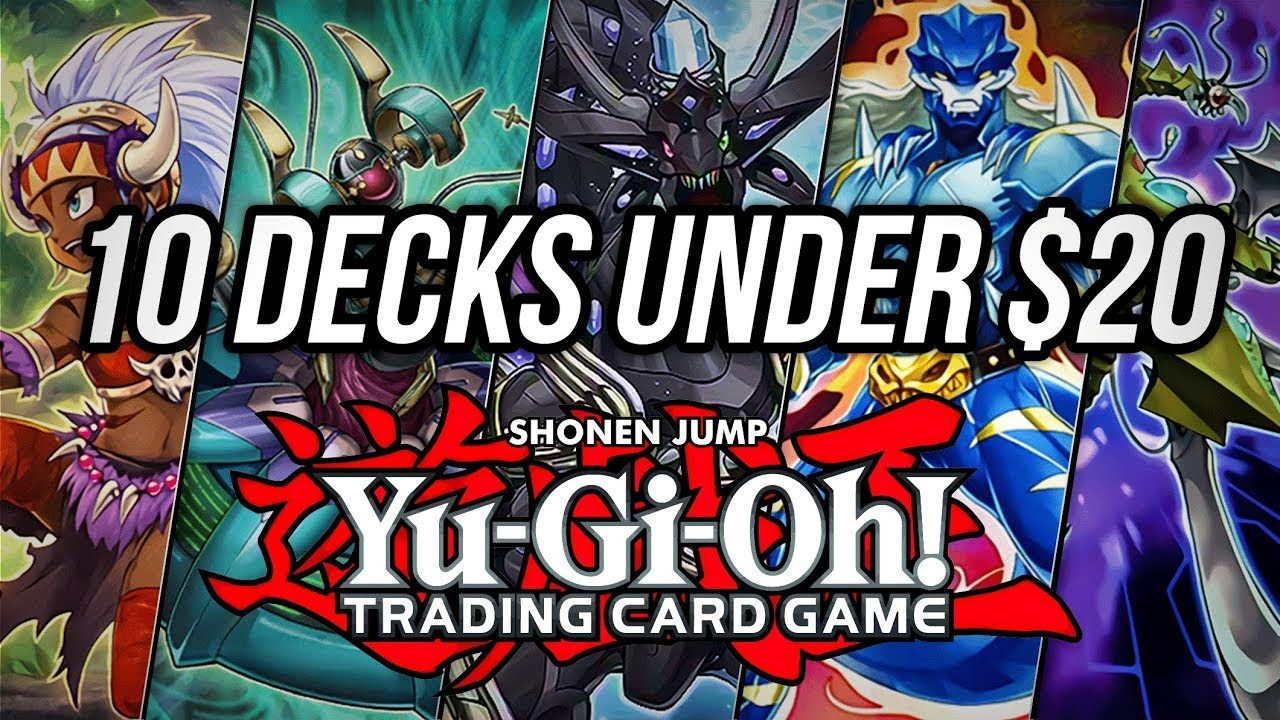 Yu Gi Oh! 10 Budget Decks Under $20! 💰   YouTube