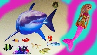 Shark Wild Walls Room Decoration Stickers Glow Ocean Sounds Light Toy Review
