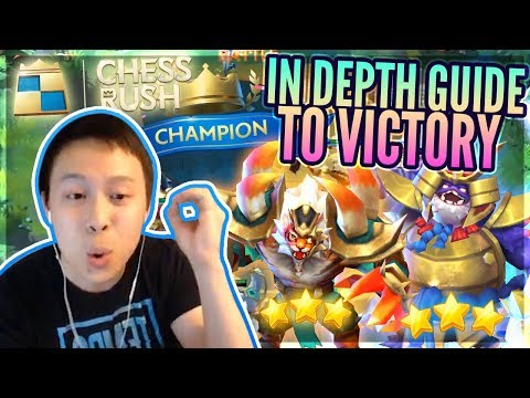 SUPERB 1st Game!? In Depth Guide To VICTORY! - PERFECT Mobile Strategy Game! - Chess Rush