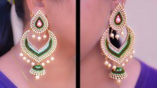 Pretty Girls Don't miss : Earring for Long earring lovers | Best for party-wear
