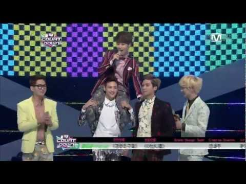130314  SHINee - Dream Girl+Win+Encore @Mnet Countdown