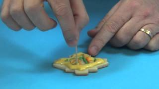 Decorating Fall Sugar Cookies With Chef Alan Tetreault Of Global Sugar Art, Llc