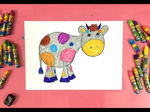 Painting for kids | How to draw a donkey | Art for kids