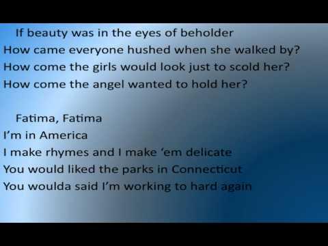 K'naan - Fatima w/ Lyrics