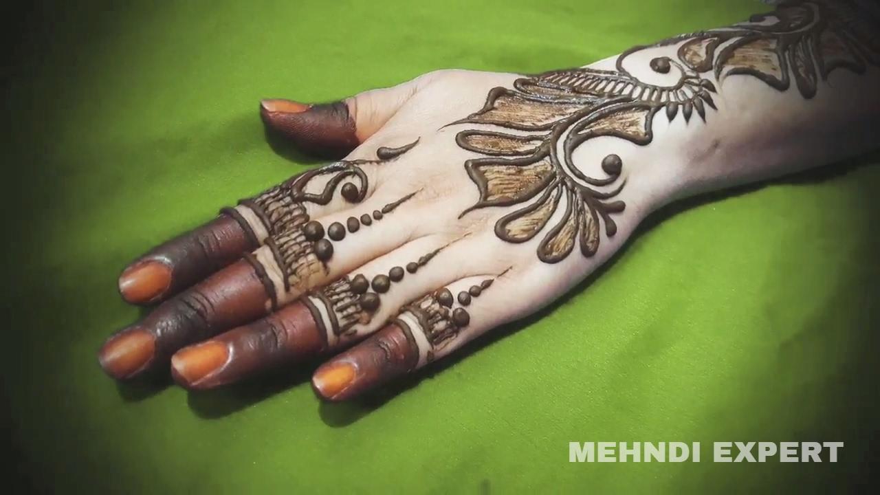 Mehndi Fingers Rating : Latest stylish arabic beautiful mehndi designs for hands