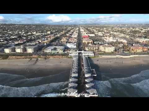 San Diego by DJIP4 Drone