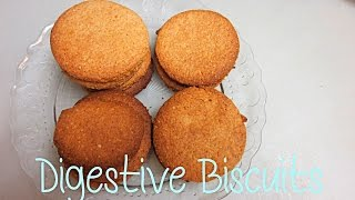 Digestive Biscuits || Galletas Tipo Digestive