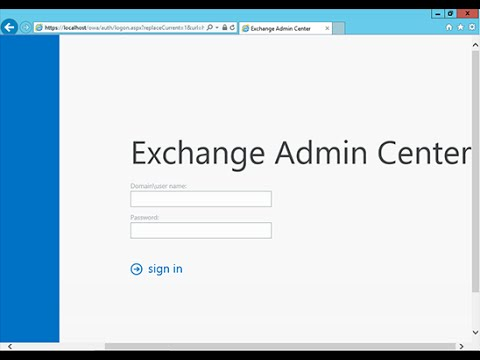 How to Install Microsoft Exchange Server 2013 Step By Step Full