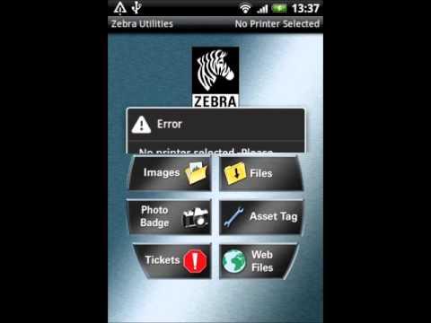 Installeren Android Zebra utilities