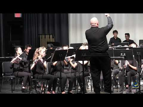 F.J. Carnage Middle School Symphonic Band performs Children's March on 3/19/2019