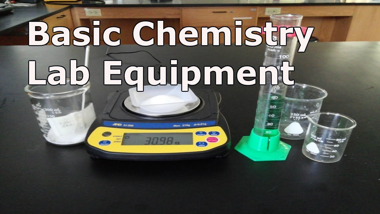 small resolution of Basic Chemistry Lab Equipment - YouTube