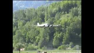 Nostalgieflugtag Meiringen mit der Tante Ju, 19. Mai 2012
