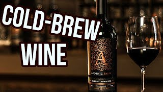 Cold Brew-Infused Red Wine Is Now A Thing We Always Knew We Needed
