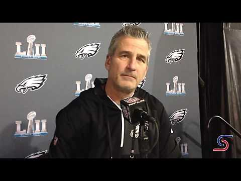 Indianapolis Colts head coach Frank Reich on coaching Nick Foles in Super Bowl LII