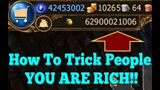 How To Trick People  You Have Lots of Money | Drakensang Online