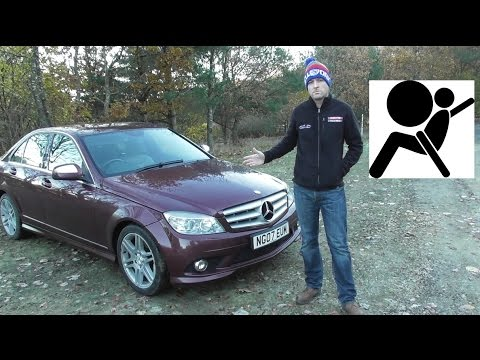 mercedes c class w204 airbag diagnose reset i980 youtube. Black Bedroom Furniture Sets. Home Design Ideas