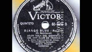 Louis Vola   Django Blue 1945
