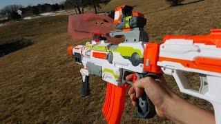 Nerf War: Gun Game!