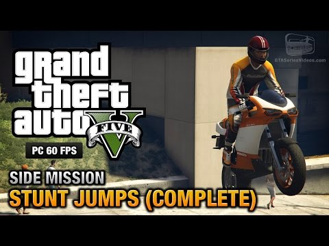 GTA 5 PC - Stunt Jumps [Show Off Achievement / Trophy]