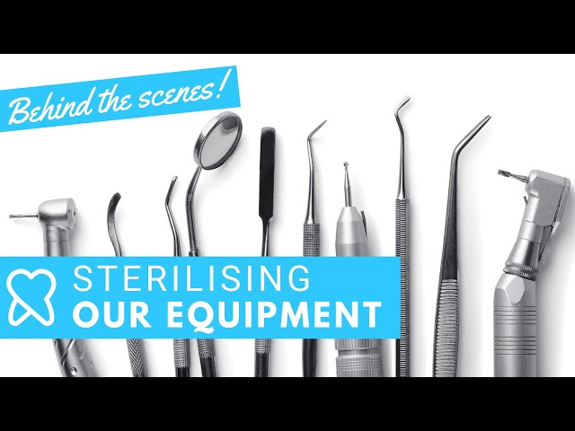 Sterilising instruments