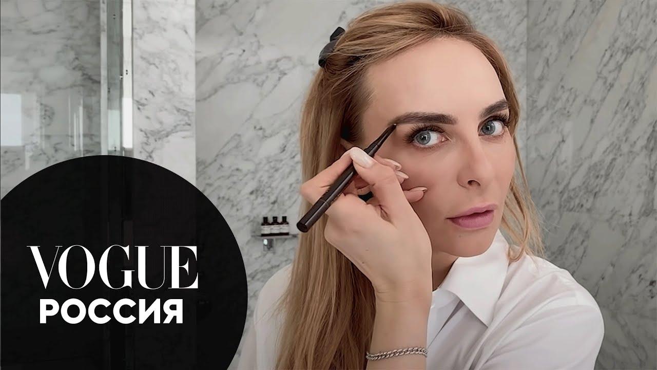 Секреты красоты: Екатерина Варнава показывает свой макияж для съемок